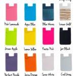 Sticky Smart Wallet Color options