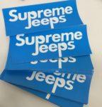 Supreme Jeeps Blue