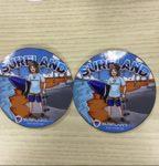 Surfland Sticker