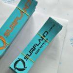 Surfland bumper sticker1