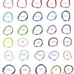 String Bracelet Color Options