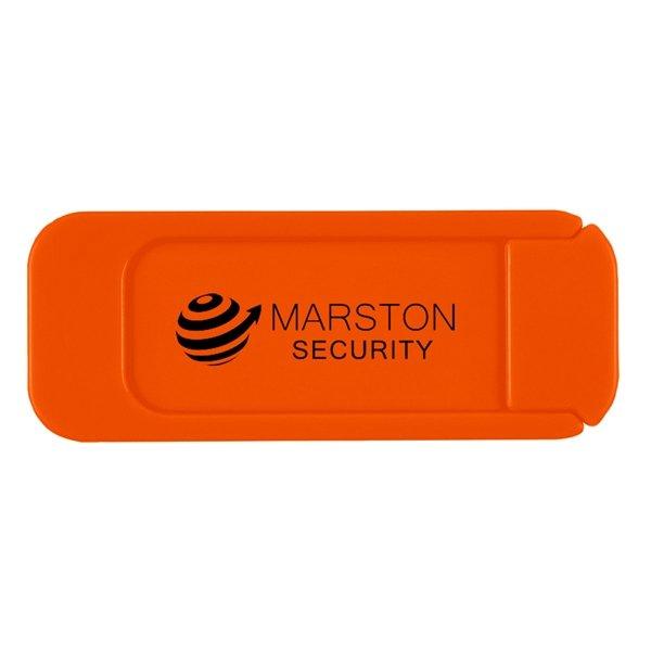 Webcam cover orange