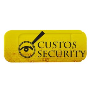Webcam cover yellow
